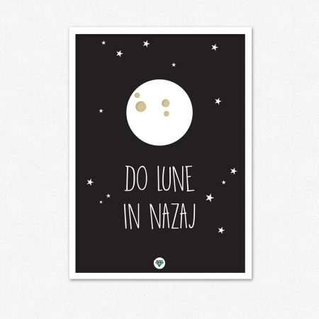 Do lune in nazaj | #superšik by Satis Design