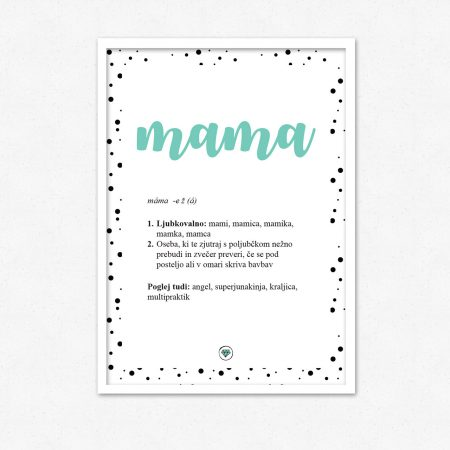 Mama! Superjunakinja, angel, kraljica | #superšik by Satis Design