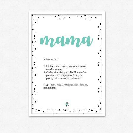Mama! Superjunakinja, angel, kraljica | #superšik by Satis Design