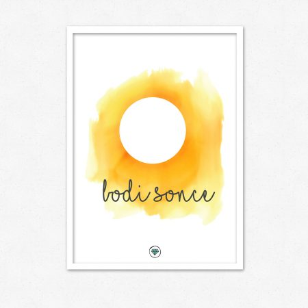 Bodi sonce | #superšik by Satis Design