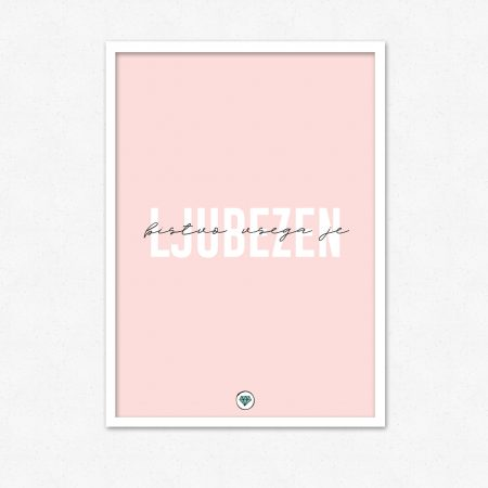 Bistvo vsega je ljubezen | #superšik by Satis Design