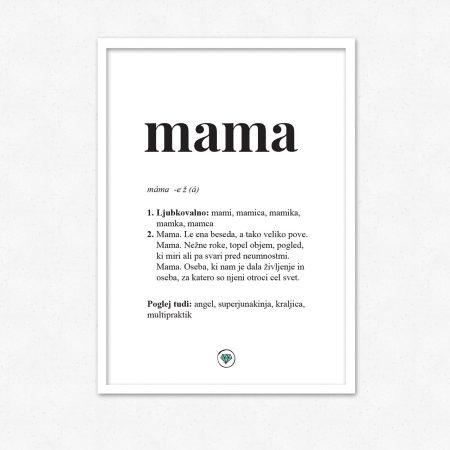 Mama! Najlepše darilo za mamo. | #superšik